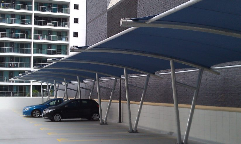 cantilever-parking-shade-structure
