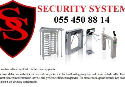 Turniket sistemleri 055 450 88 14