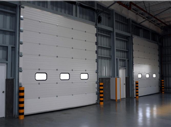 Industrial-sectional-door