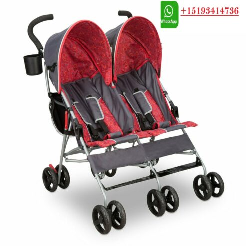Double-Baby-Stroller-Twin-Umbrella-Folding-Pushchair-Infant