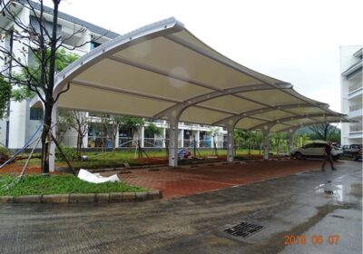 Tensile Membrane Structures For Car Parking Shades Shaoguan 1