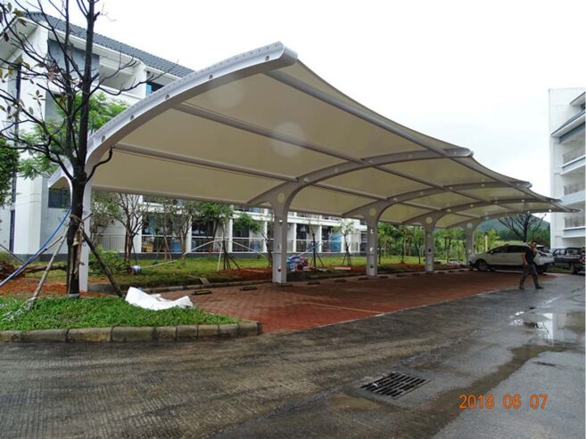 Tensile-Membrane-Structures-For-Car-Parking-Shades-Shaoguan-1